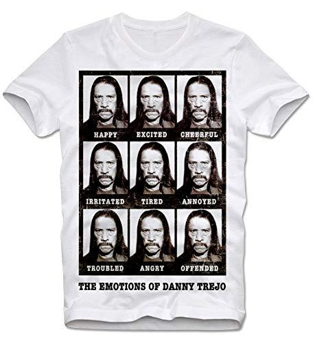 T-Shirt Machete Grindhouse Tarantino Rodriguez Danny Trejo Kultfilm Cult Movie Faces L