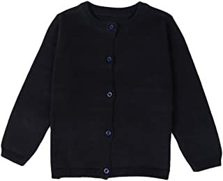 Baby Boys Girls Button-Down Cardigan Toddler Cotton Knit Sweater 1-5t Kid