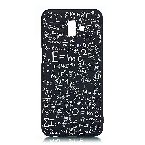 Coopay J6 Ultra Slim Case krasbestendig Zacht Siliconen TPU Back Cover, Flexibele schokabsorptie Siliconen Hoesje Bumper Shell Telefoon Beschermhoes voor Samsung Galaxy J6 (5.6 inch) + 1 x Lanyard, Phone case #3