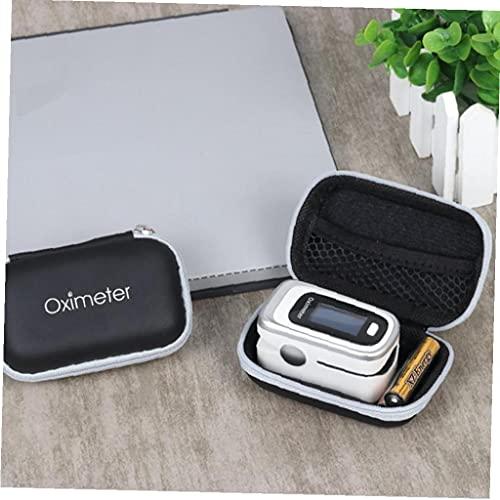 Oximeter-Fall-Harte Eva Zipper Oximeter Box Oximeter Schutz Zeichen Bewegliche Finger Oximeter-Abdeckung Tasche Für Reisen