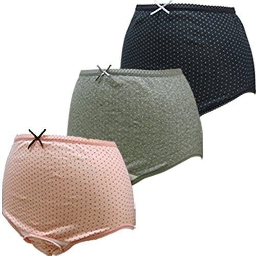 ローズマダム 産褥ショーツ3枚組 綿100% 肌ざわりがよく着け心地快適 お得セット ロングセラー 人気 出産準...