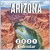 Arizona 2021 calendar: 18 Months Calendar