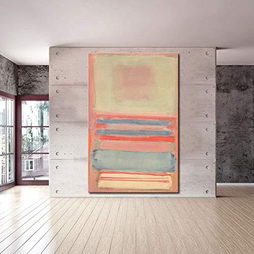 Große Größe Pink Abstrakter Gemälde Wand Dekor Leinwandbild Schön Modernen Familie Dekoration Handgemalte Kunst Ölgemälde,Noframe,40x80cm