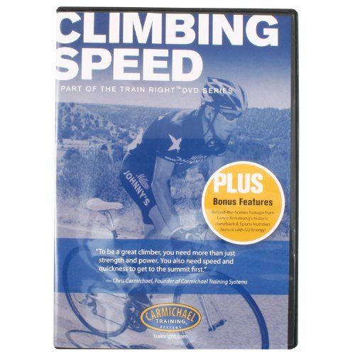 Carmichael Training Cts Dvd-Climbing Speed by Carmichael
