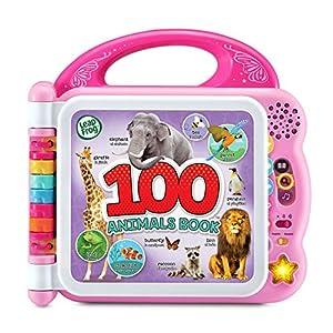 LeapFrog 100 Animals Book (Frustration Free Packaging), Pink