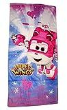 Super Wings Toalla de baño de 70 x 140 cm (Pink 4355)