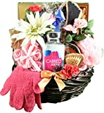 A Sweet Escape, Spa & Chocolates Gift Basket For Her - Spoil Her In Luxury With Decadent Chocolates...