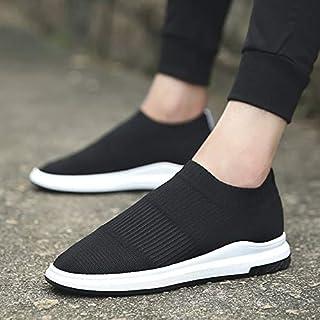 #N/V Scarpe basse da uomo comode di tela stile coreano traspirante scarpe con fondo piatto scarpe casual stringate basso-t...