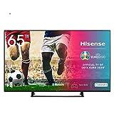 Hisense 65AE7200F 164cm (65 Zoll) Fernseher (4K Ultra HD, HDR, Triple Tuner DVB-C/S/S2/T/T2, Smart-TV, Mittelstandfuß, Frameless, Bluetooth, Alexa)