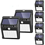 Solar Lights Outdoor, SEZAC [42 LED/3 Working Mode], Solar Security Lights Wireless Waterproof