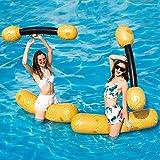 LONEEDY Juego de 2 piezas inflables para fiestas de piscina y deportes acuáticos