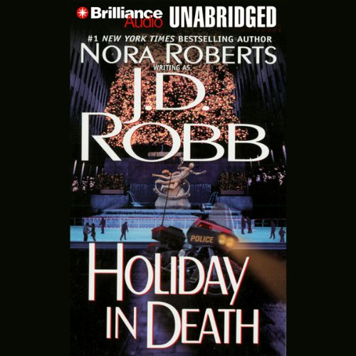 Holiday in Death audiobook cover art