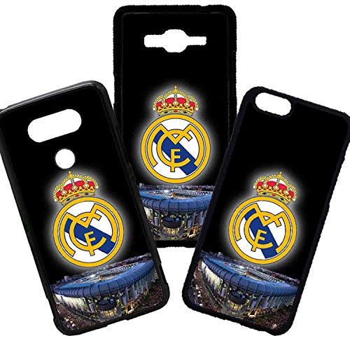 Tuscaprichosonline Carcasas De Moviles Fundas De TPU Compatible con El Modelo de Movil Samsung Galaxy J4 Plus 2018 Fútbol Deporte Real Madrid...
