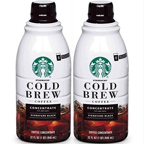 Starbucks Cold Brew Concentrate, 32 Fl Oz (Signature Black)