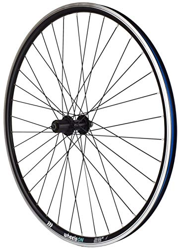wheelsON 700c 28 inch Rear Wheel 8/9/10 spd Hybrid/Mountain Bike Double Wall 36h Black (wheel only)