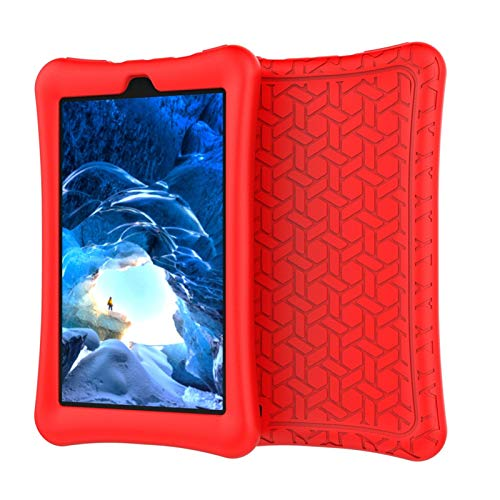 PIANYIHUO Tablet caseTablet Case,For HD 7Inch 2019 Case Slim Cover Silica Gel E book Shell Protective Case