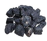 Piedras de turmalina negras/Schörl, piedras de agua sin tratar, 100% natural, 300 gramos