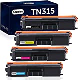 Kappiek Compatible Toner Cartridge Replacement for Brother TN315 TN310 TN-315 TN-310 TN315BK to Use with HL-L8350CDW HL-4150CDN HL-L8250CDN MFC-L8850CDW MFC-9970CDW MFC-9460CDN Printer (4-Pack)