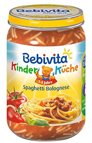 Bebivita Spaghetti Bolognese, 6er Pack (6 x 250 g)