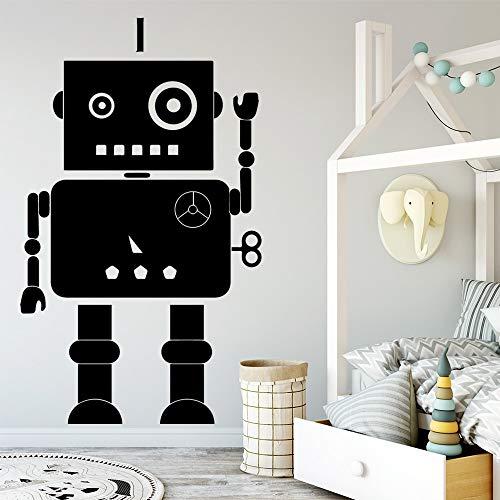 Tianpengyuanshuai muursticker robotdecoratie voor thuis, als cadeau voor jongens en meisjes