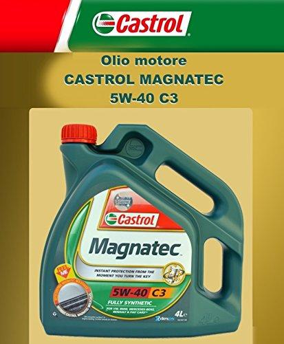 Aceite de motor original CASTROL MAGNATEC C3 5W-40 LT. (4 litros)