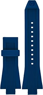 Access Dylan Navy Silicone Strap