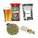 Coopers APA + Dextrose - Kit de preparación de Cerveza (1 kg, Incluye Bolsa de Muselina, 25 g)