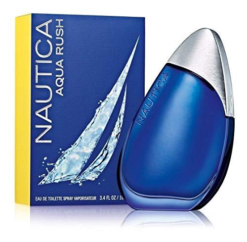 Nautica Aqua Rush by Nautica Eau De Toilette Spray 3.4 oz for Men