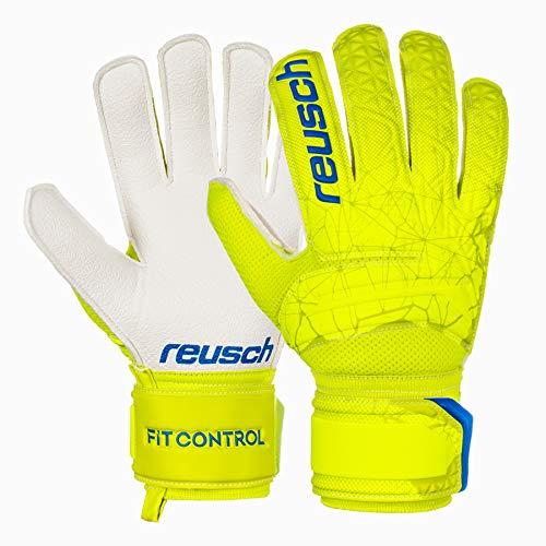 Reusch Fit Control RG Torwarthandschuh, Lime/Safety Yellow, 8