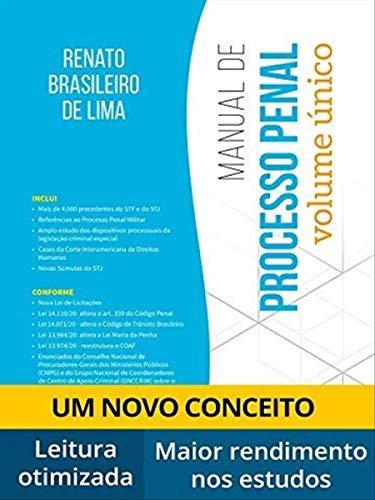 Manual De Processo Penal - Volume Único - 9ª Edição (2021)