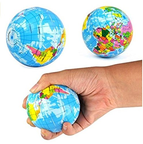 TFXWERWS Mini-Hüpfball aus Polyurethan, zum Stressabbau.