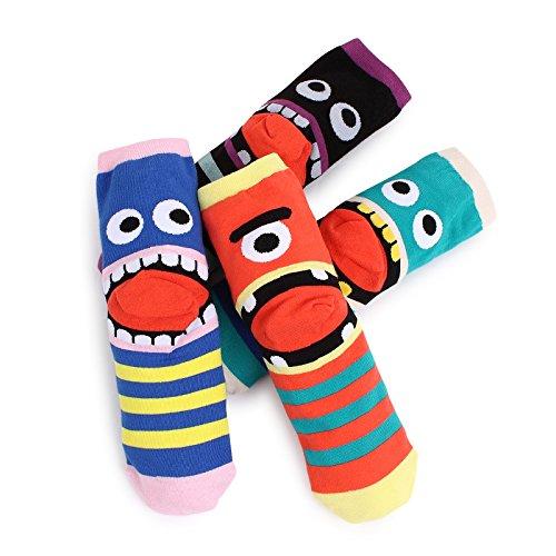Intype Meistverkaufte Socken Kollektion Pouch (Crew(cd) 4 Paare)