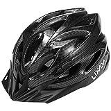 Lixada Adult Bike Helmet,Mountain Bike Helmet MTB Bicycle Cycling Helmets,Adjustable Dial-Fit Integrally Molding Lightweight Helmets with LED Back Light for Men and Women