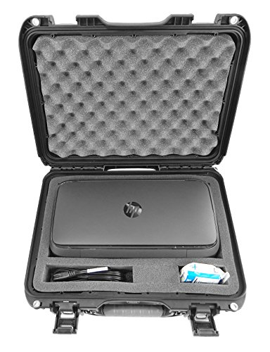 CASEMATIX Elite Portable Printer Case Compatible with Officejet 250 and 200 - Professionally Designed Waterproof Crushproof Travel Case for Officejet 250 Mobile All-in-one Printer