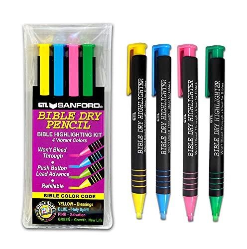 Bible Dry Highlighting Kit (Set of 4)