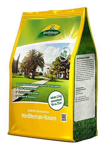 Quedlinburger 104966 Mediterran-Rasen (2,5 kg) (Rasensamen)