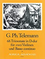 TELEMANN - Trio Sonata en Re Mayor (TWV:42/d 1) para 2 Violines y Piano (Pauler/Hess)