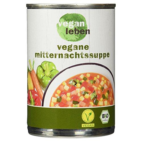 vegan leben Vegane Bio Mitternachtssuppe, 380 ml