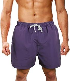 con forro de malla de secado r/ápido dise/ño de mujer con estampado 3D pantalones cortos informales Newistar tama/ño completo Ba/ñador para hombre