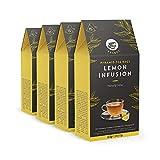 Marca Amazon – Happy Belly Select Bolsitas de té con limón, 4x15pirámides