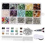 1 Set 15 Griglie gioielli e accessori Combinazione Set Multi-Style gancio dell'orecchio di mano Strumento Pinza per i gioielli artigianali forniture per ufficio fai da te