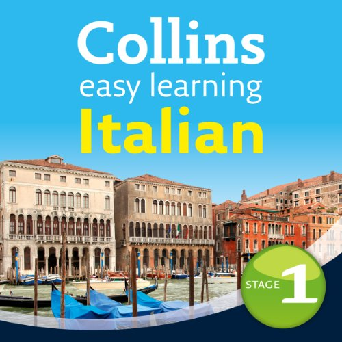 Italian Easy Learning Audio Course Level 1     Learn to speak Italian the easy way with Collins              Written by:                                                                                                                                 Clelia Boscolo,                                                                                        Rosi McNab                               Narrated by:                                                                                                                                 Collins                      Length: 3 hrs and 49 mins     Not rated yet     Overall 0.0