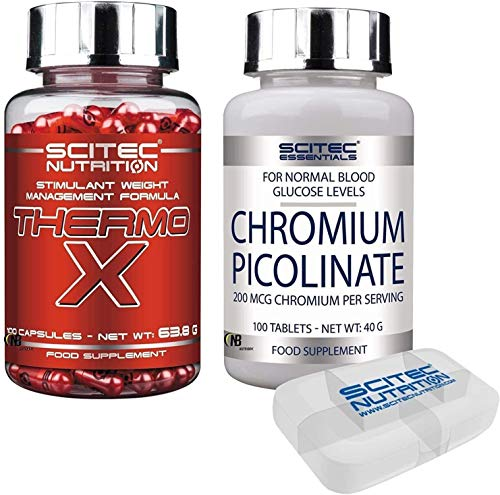 SCITEC NUTRITION THERMO X 100 CAPSULE POTENTE TERMOGENICO...