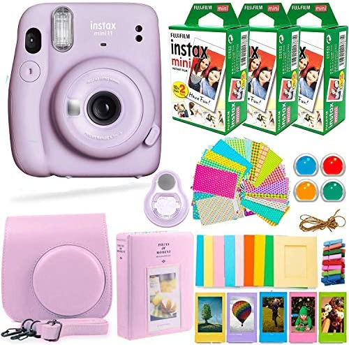 Fujifilm Instax Mini 11 Camera with Fujifilm Instant Film 60 Sheets Deals Number ONE Accessories product image