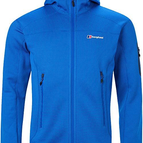 Berghaus Privatale Moutain 2.0 - Chaqueta de forro polar con capucha para hombre, Adriático/Lapis Azul, 3XL