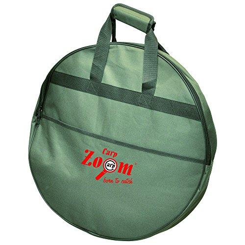 Einkammer- Setzkeschertasche Keschertasche Angeltasche Ø55x8cm wasserabweisend