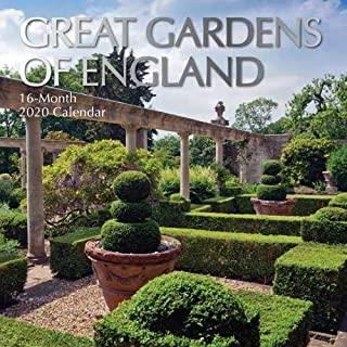 Great Gardens of England: 2020 Square Wall Calendar