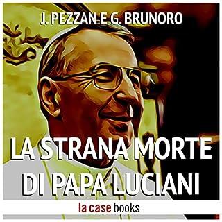 La strana morte di Papa Luciani copertina