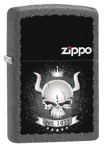 Zippo 2004249 Accendino 211 Skull Crown