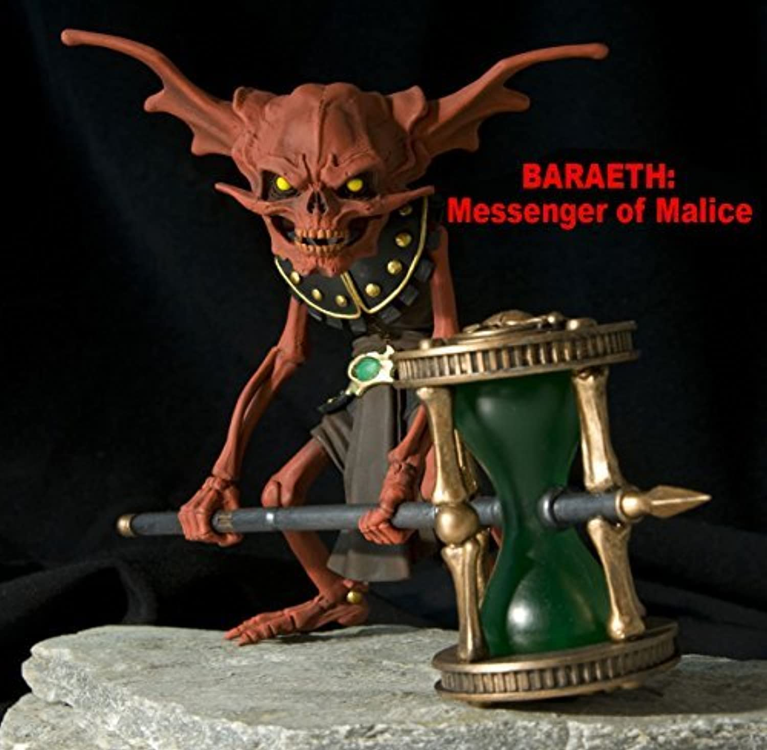 Gothitropolis rot Time Keeper Messenger of Malice Baraeth Action Figure by Four Horsemen